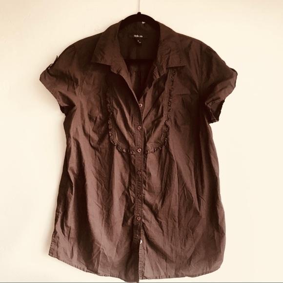 Style & Co Tops - Women's Short Sleeved Blouse